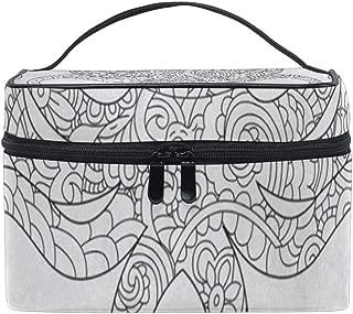 Cosmetic Bag Octopus Sea Animal Raster Makeup Bag Portable Large Toiletry Bag for Women Travel