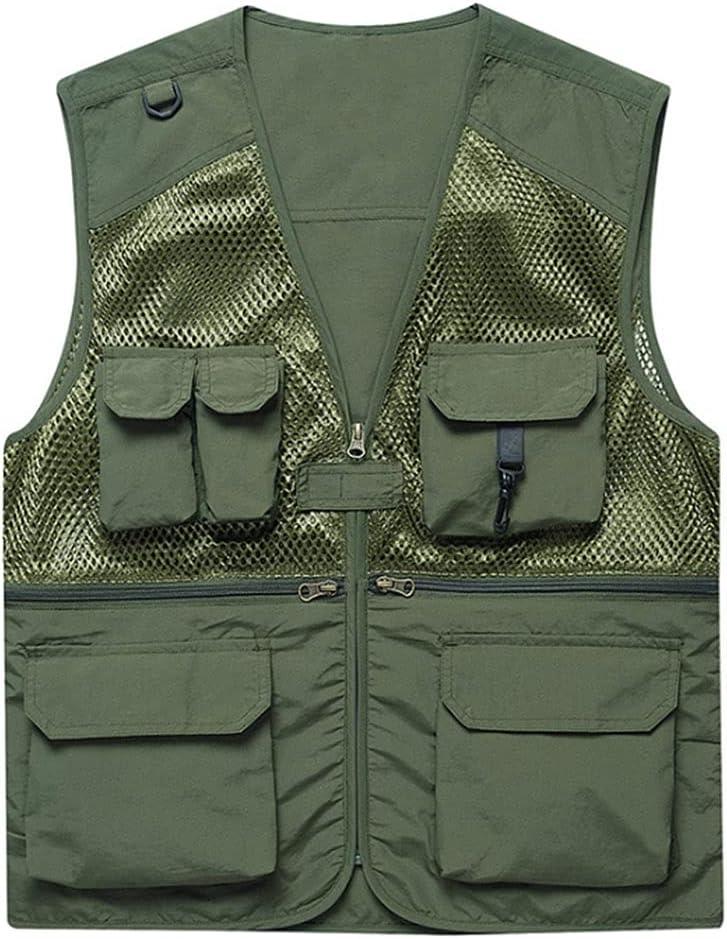 Fishing Vests for Men Time sale Waistcoats Vest Mult New product! New type Men's