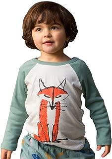 DaySeventh Baby Kids Boys Girls Long Sleeve Fox Cute Cotton T-Shirt Tops