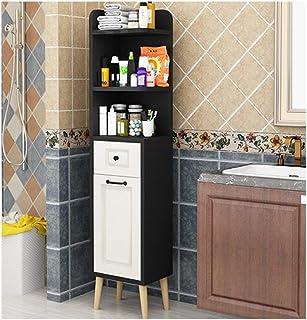 KOKOF Armoire de salle de bain nordique avec tiroir Noir