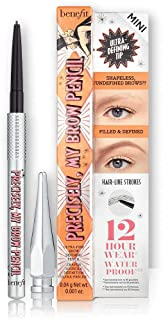 Benefit Cosmetics Precisely, My Brow Pencil Ultra-Fine Shape & Define 03 Medium travel size
