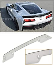 Extreme Online Store Replacement for 2014-2019 Chevrolet Corvette C7 | Z06 Z07 Stage 3 Style Rear Trunk Center Wickerbill Spoiler (Light Tinted)