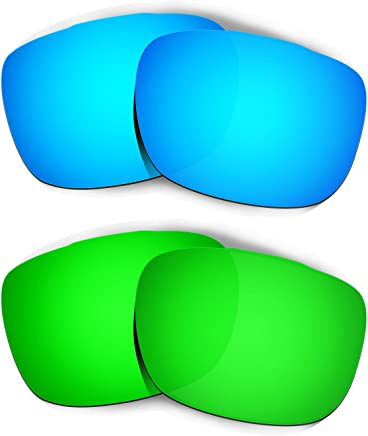 06297625d38 Hkuco Plus Mens Replacement Lenses For Oakley TwoFace - 2 pair Combo Pack
