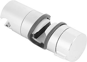 Suporte de barra deslizante, suporte de chuveiro em ABS Material ajustável sem folga Tratamento brilhante de 5 camadas par...