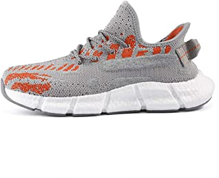 Running Shoes Mesh Lightweight Breathable Fitness Sneakers Men's Slip-On Walking Shoes Shock Absorbing Non-Slip Trainers f...