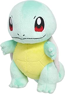 Sanei Pokemon All Star Series PP19 Squirtle Stuffed Plush, 15cm