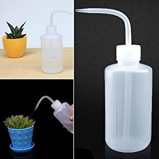 JannahMehr Watering Can for House Bonsai Plants Garden Flower Succulents Plant Flower Beak Squeeze Bottle Kettle with Long...