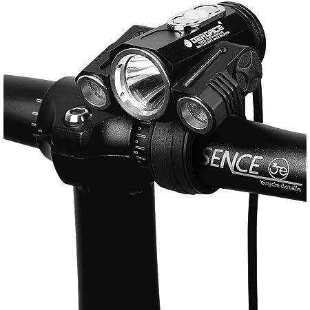 eBike Rennrad Mountainbike Fahrrad Wasserdicht Fahrradbeleuchtung f/ür Wie Camping kashyk Fahrrad LED Fahrradbeleuchtung ,Ausleuchtung Scheinwerfer