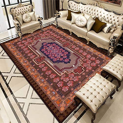 Oukeep Ethnic Style Carpet, Suitable For Large-Area Host Families, Ethnic Style Carpet, Washable