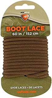 """Sof Sole Boot Waxed Lace Brown 60"""""""