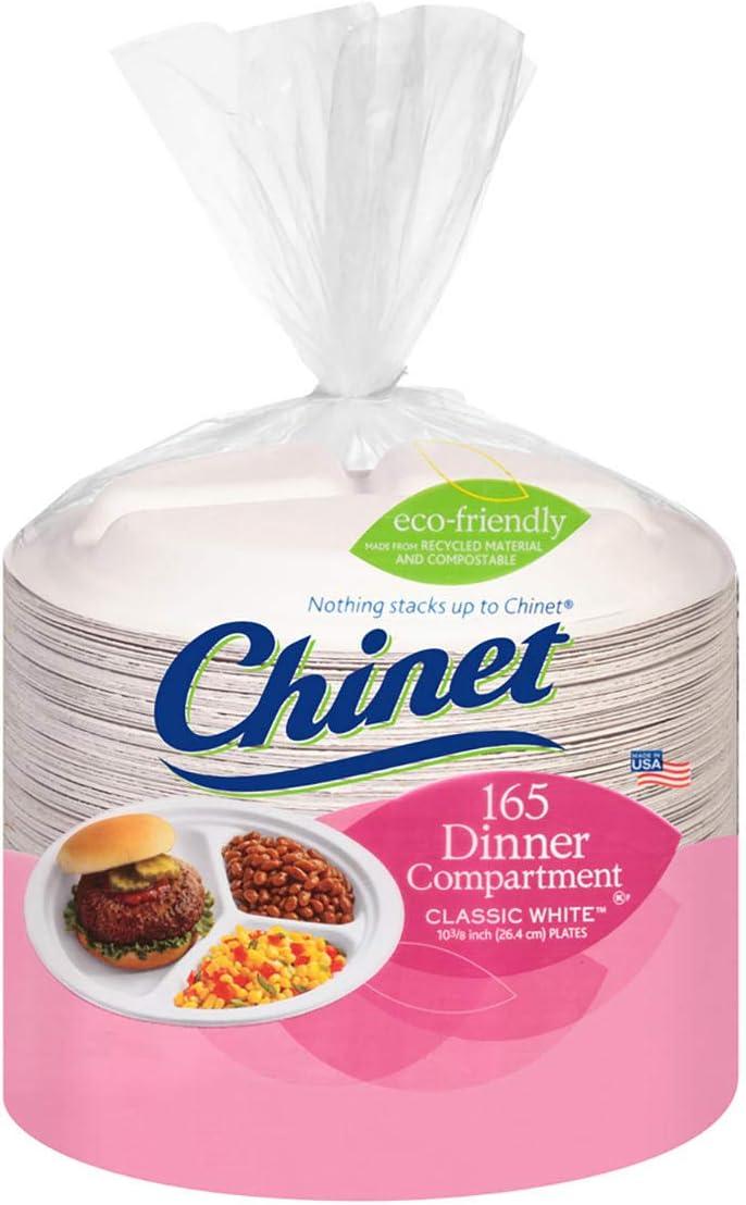 Chinet Regular discount Classic White 10-3 8