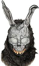 Donnie Darko Bunny Mask Deluxe Frank Helmet with Fur Cosplay Accessory … Grey