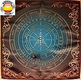 Set mantel del altar para el péndulo clásico lazuli universal + Péndulo Lapis