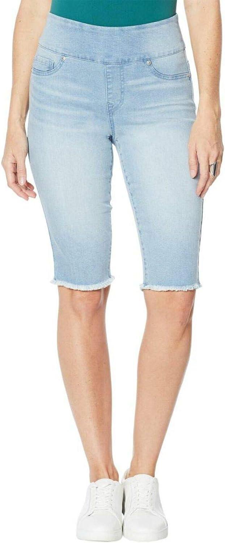 DG2 by Diane Gilman Women's Petite Pull On Bermuda Shorts. 724452-Petite