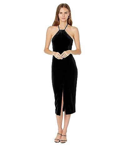 Bardot Alisa Midi Velour Dress