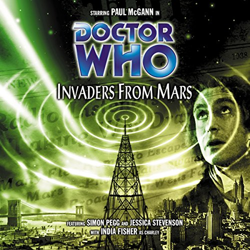 Doctor Who - Invaders from Mars audiobook cover art