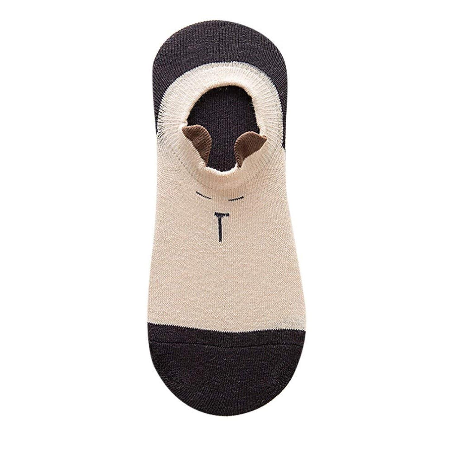 ジョージスティーブンソン対人共感するSofitoa ソックスカジュアル作業ビジネス綿動物耳ファッション靴下快適