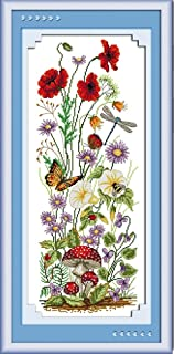 Best cross stitch spring flowers Reviews