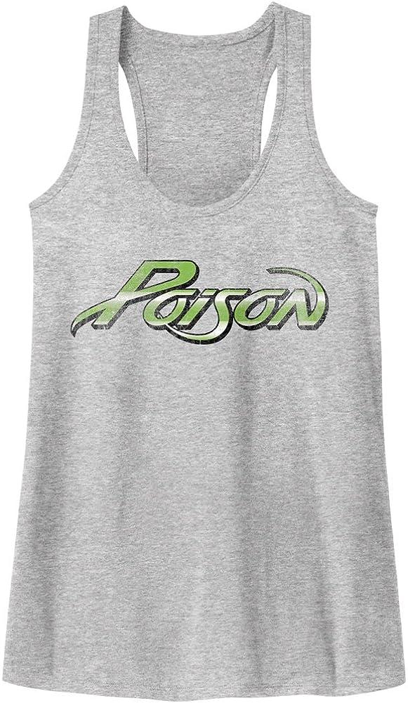 Poison Old School Rock /'N Roll Women/'s Racerback Tank Top