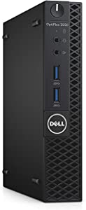 Dell Optiplex 3050 Intel Core i3-7100 X2 3.9GHz 4GB 500GB Win10,?Black?(Renewed)