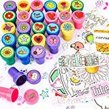 Qpout 100 pegatinas Dibujos animados y 28 sellos, día de San Valentín, día de San Valentín, fiesta de cumpleaños para niños, álbum de recortes, cuaderno, tarjetas, accesorios de decoración