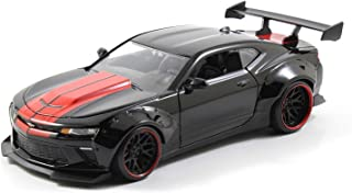 2016 Chevy Camaro SS JADA BIGTIME MUSCLE WIDE BODY Diecast 1:24 Scale Black 98137