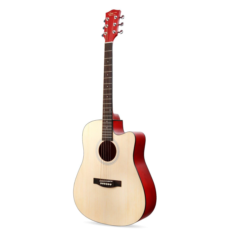 Guitarra Acústica, Hricane Guitarra Clásica 41 Pulgadas Acabado ...