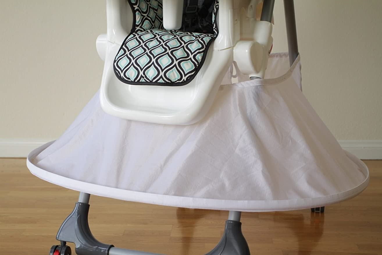 Highchair Bib (White)