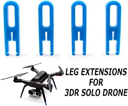 Landing Gear Leg Extensions Protector Heighten Increase Tripod for 3DR SOLO Smart Drone