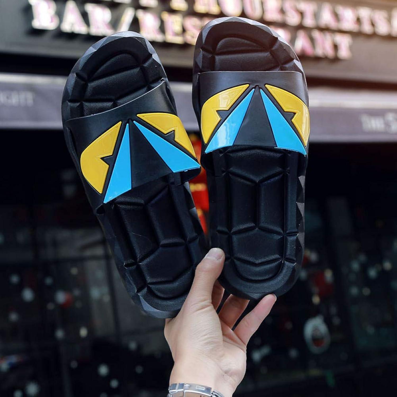 QRETYSG flip flop Men Flip Flops Beach Flat Sandals Designer Slippers Summer shoes Fashion Slides Rubber Clogs Size
