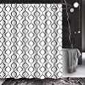 HNB Decorative Geometric Shower Curtain