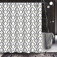 HNB Decorative Geometric Shower Curtain