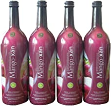 Mangoxan Optimized Mangosteen Juice Blend Xanthone Rich 4-25.35 fl. oz. bottles (4 Pack) Great Tasting Mangosteen Supplement, Anti-inflammatory Properties Antioxidant Properties