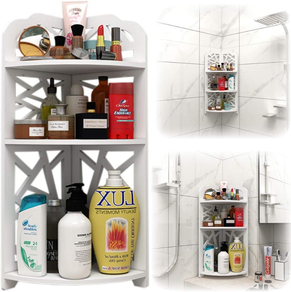 3-Tier Bathroom 2021 2021 new new Corner Shelf Shower Mounted Caddy - Count Wall