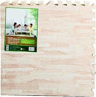 comprar comparacion 16 Piezas EVA Espuma Puzzle Alfombra/Efecto Madera Rompecabezas para cubrir el suelo / - No Tóxico/Perfectas para Proteger...