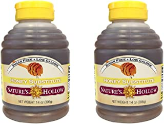 Nature's Hollow Sugar-Free Honey Substitue 14 Ounce, Non GMO, Vegan and Gluteen Free - 1 Pack