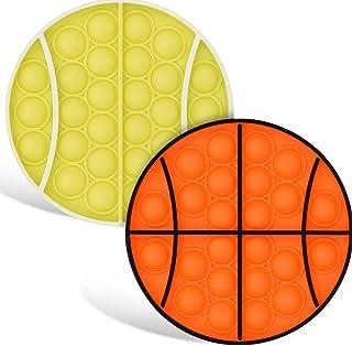 Sponsored Ad - BBC Bluez Cruz Company 2 Fidget Pack - Push Bubble Fidget Sensory Toys - Stress Reliever - Autism Toy - Ant...