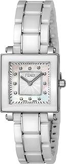 [フェンディ]FENDI 腕時計 CERAMIC ホワイトパール文字盤 ダイヤモンド F622240BD レディース 【並行輸入品】