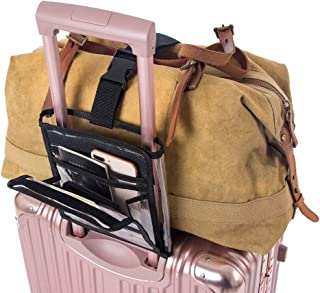 Transparent Luggage Straps, Travel Bag Bungee, Roomy Luggage Packing Organizer for Carry-on Luggage,Luggage Side Roll