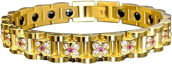 Yunyan Roestvrij stalen armband mode strass armband gepersonaliseerd accessoire geweldig cadeau voor vrouwen mannen