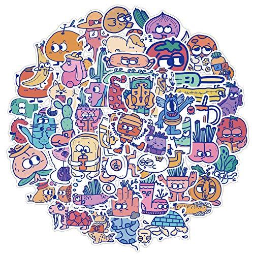 YZFCL Designer Joint Name Does Not Infringe The Original Monster Cartoon Image Graffiti Sticker Sticker Box Diary Waterproof Sticker