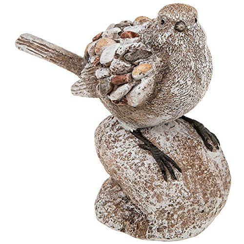 Pebble Art Tuin Vogel op Rock Ornament/Decoratie/Beeldje