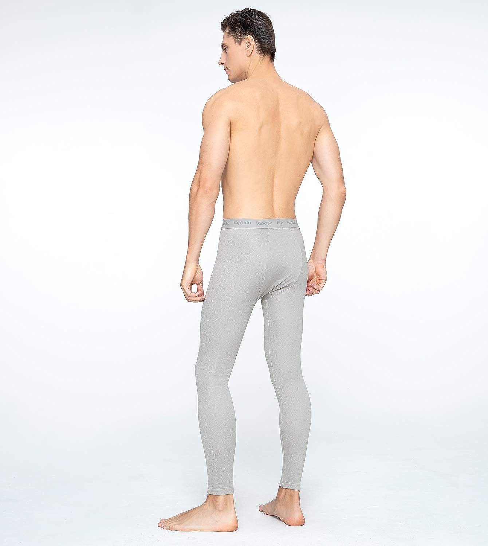 LAPASA Uomo Pantaloni Termici Invernali Ad Alta Densit/à Intimo Super Termico Heavyweight M25