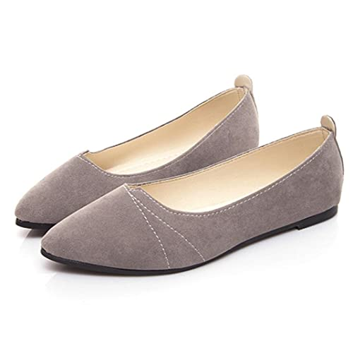 04aad04d698 OverDose Women s Flats Ladies Comfy Shoes Soft Slip-On Casual Boat Shoes