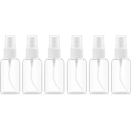 BAR5F Fine Mist Spray Bottle   Plastic PETE 1   2 fl.oz (Pack of 6)