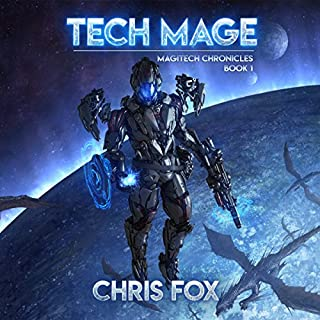 Tech Mage audiobook cover art