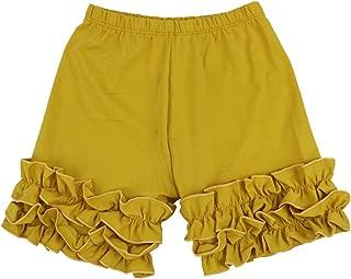 Baby Little Girls Short Cotton Icing Ruffle Shorts