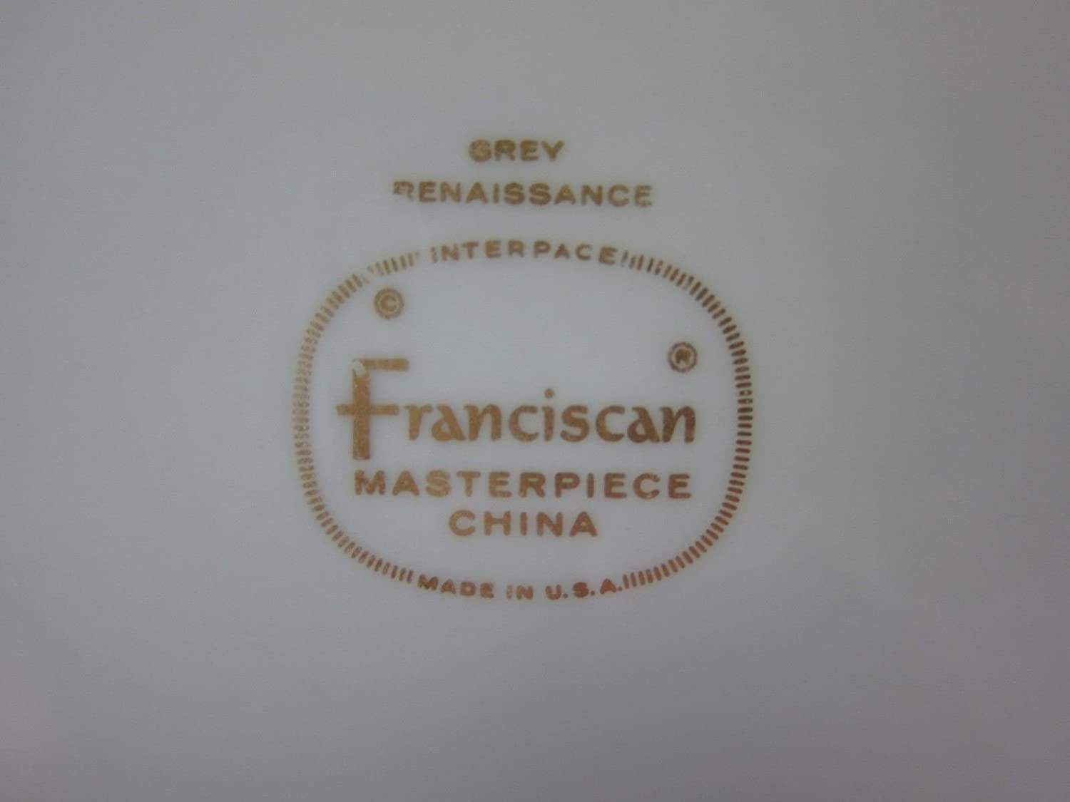 Franciscan RENAISSANCE GREY Salad Plate s Sales of Spring new work SALE items from new works Multiple EX Available