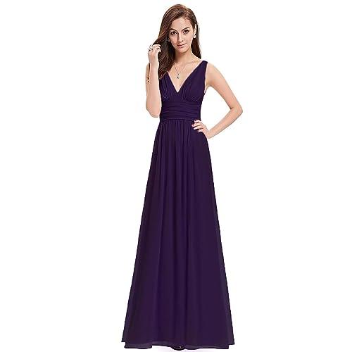 b5608f312ce6 Purple Bridesmaid Dress: Amazon.co.uk