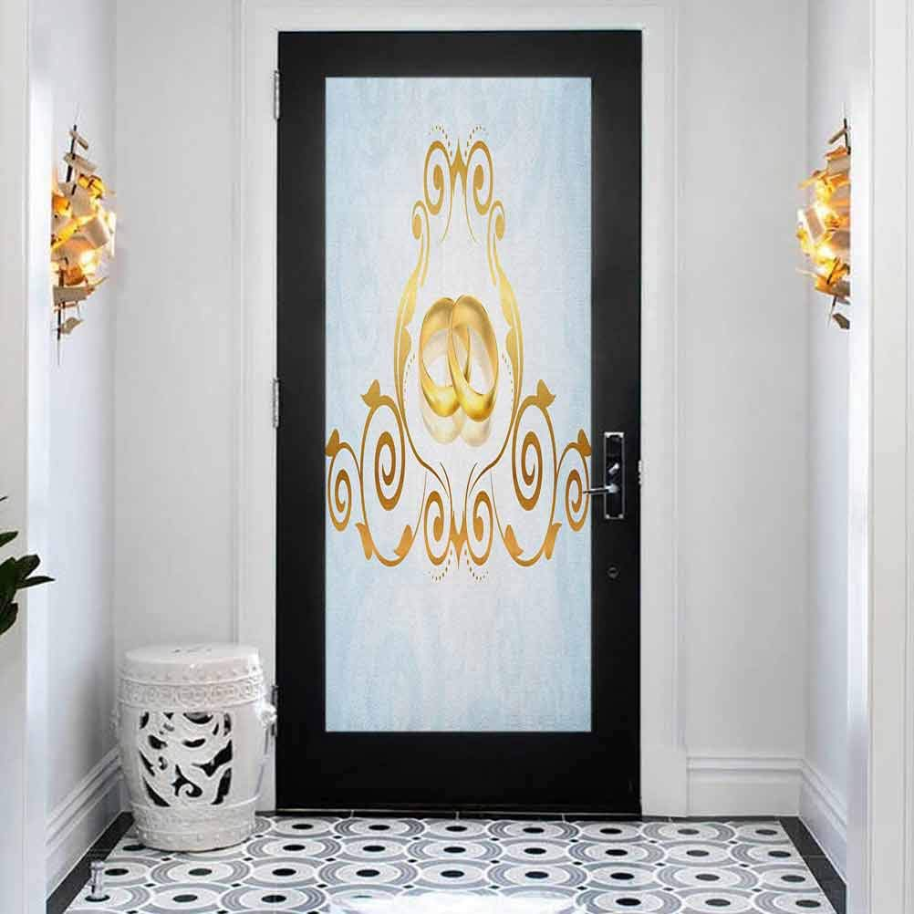 3D Limited price Door Wall Mural Wallpaper Vintage Sales results No. 1 Vic Style Wedding Stickers